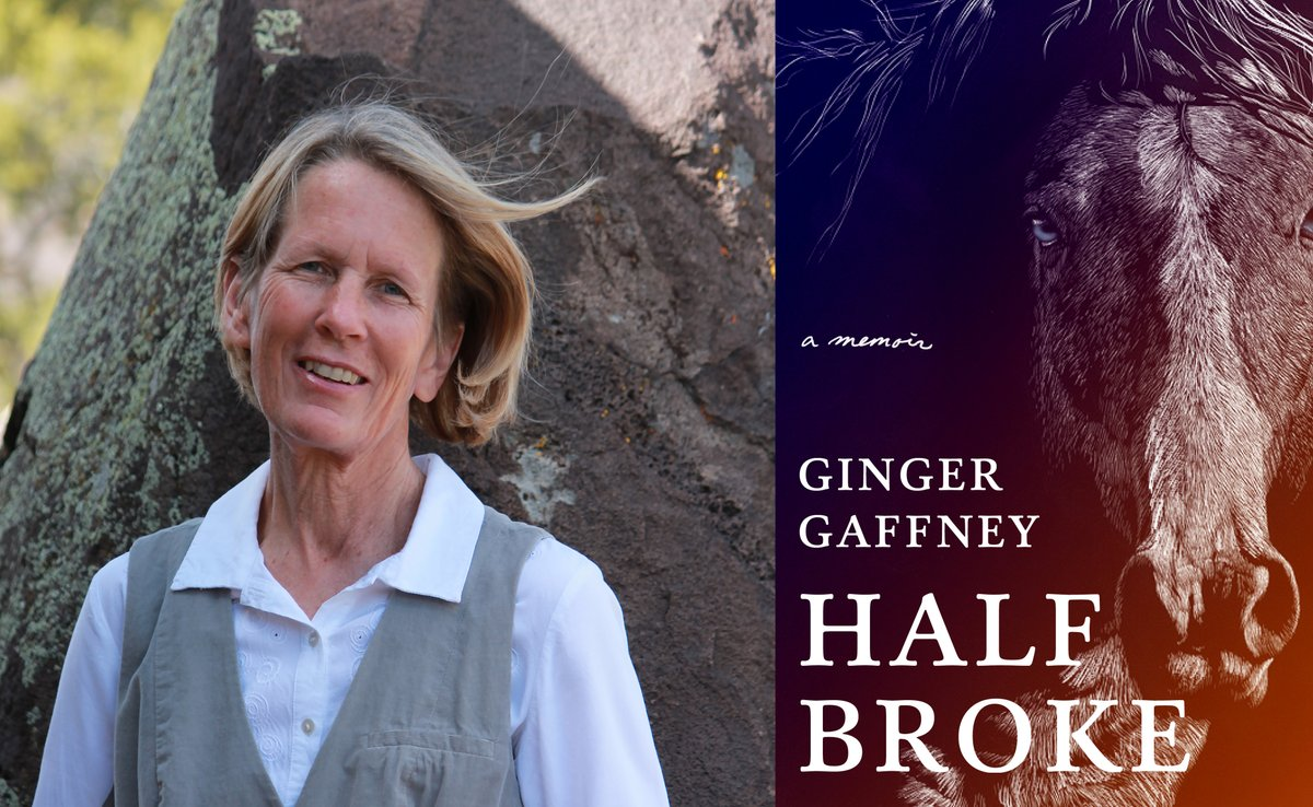 """""""I want people to know this is the contemporary West. We're more diverse than we allow ourselves to talk about. Here I am, a queer woman.""""  @ReardonAmy chats with #GingerGaffney (HALF BROKE, @wwnorton), today on the blog!"""