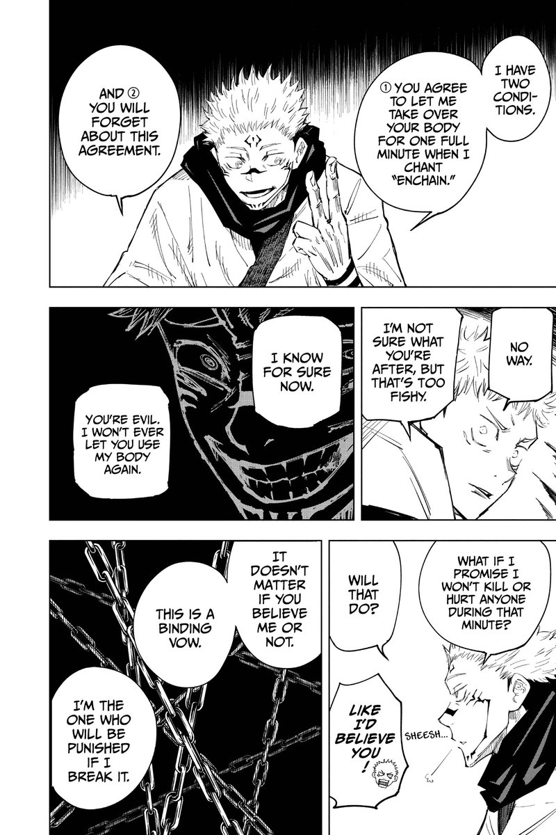 Jujutsu Kaisen On Twitter He S Only Interested In Megumi S Growth So Anything Outside Of That Is Not His Business