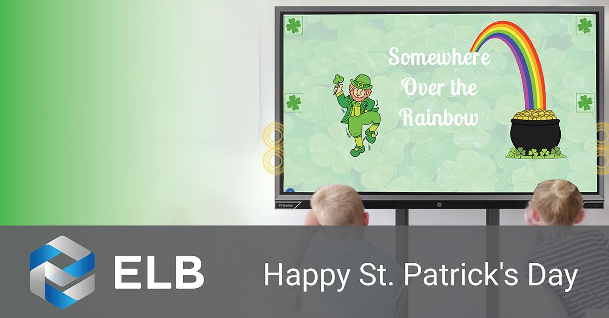 ELB wishes everyone a Happy #StPatricksDay!