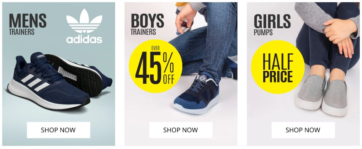 Something for everyone Mens Trainers