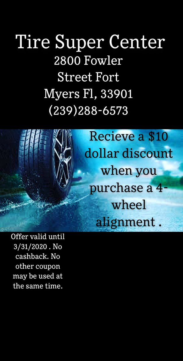 Come check us out for amazing deals!!!! #2800FowlerStreetFtMyersFl33901 #cars #tires #brakes #oilchanged #bestpricesintown pic.twitter.com/BLtpqqBMbG