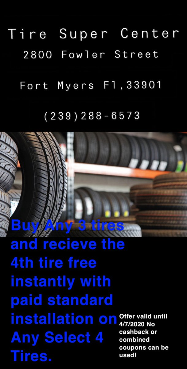 #2800FowlerStreetFtMyersFl33901 #bestpricesintown #cars  #brakes #tires #oilchangespic.twitter.com/HnFZEb05P2