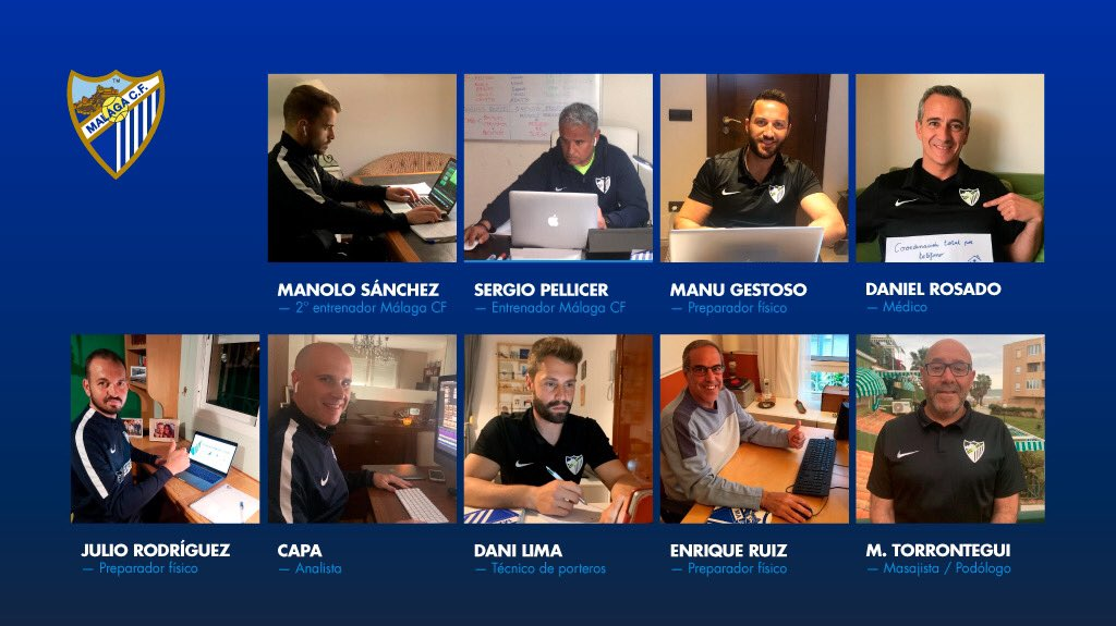 👨💻 #WorkingFromHome 👨💻 The coaching team continues to work FROM HOME 🏠 #YoMeQuedoEnCasa #StayAtHome