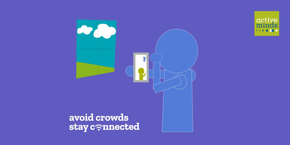 Avoid crowds — but stay connected 📞