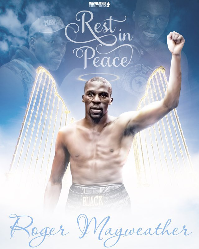 We are saddened with the recent news of Roger Mayweather's passing. Our hearts go out to the Mayweather family and we will keep you in our thoughts and prayers. We thank you all for the outpouring of love and support during this time. Roger's spirit lives on with us forever ♾ https://t.co/MWNsVftoYY