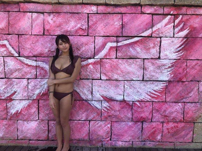 グラビアアイドル徳江かなのTwitter自撮りエロ画像5