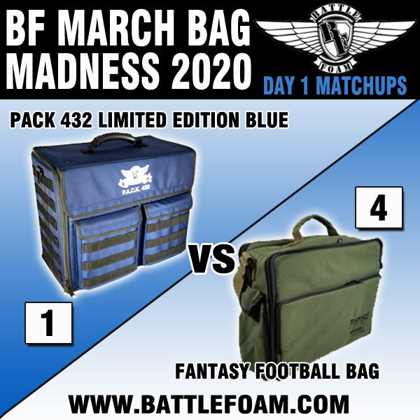Battle Foam On Twitter Bf March Bag Madness 2020 Schedule And Matchups For Day 1 Don T Forget To Share And Comment To Be Entered To Win 200 Battle Foam Bucks Winner Will Check out the p.a.c.k 432 page on the battle foam site for more details. twitter