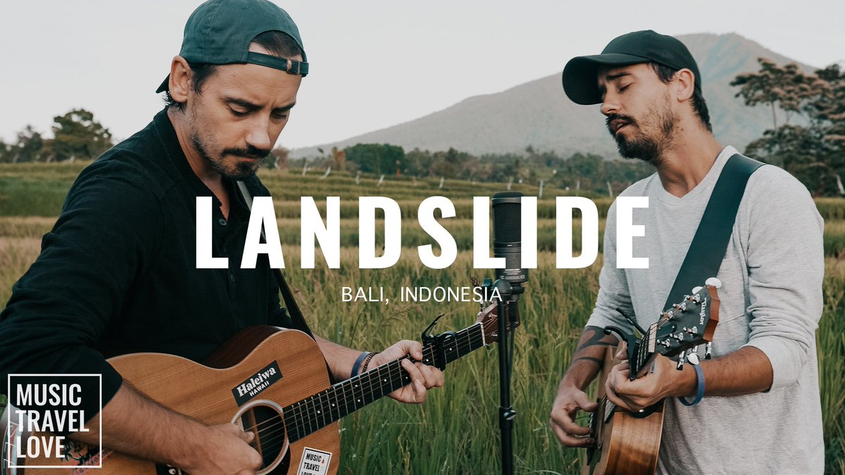 Hey everyone 👋 Our latest video is now up on our YouTube channel - https://t.co/t19TnN98tI We covered another one of our all-time favorite songs Landslide by Fleetwood Mac while in Bail 🌴 Hope you all enjoy our version of this classic! Lot's of love, mtl. #musictravellove https://t.co/pAzRz0fXY8