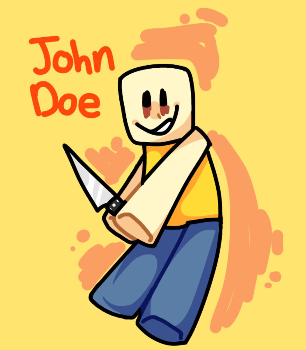 Roblox Hacker On March 18 Solarscary On Twitter Happy Roblox John Doe Day March 18th March18th Johndoe Roblox