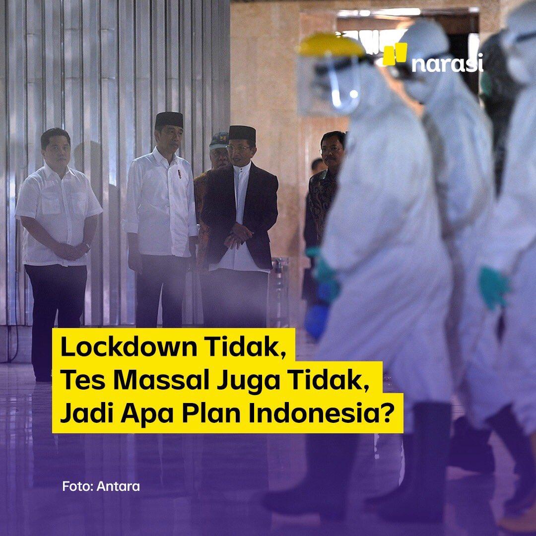 Pola penanggulangan persebaran virus corona dari tiap-tiap negara kian menunjukan adanya pilihan-pilihan strategis yang bisa diambil.   #dirumahaja #CoronaIndonesia