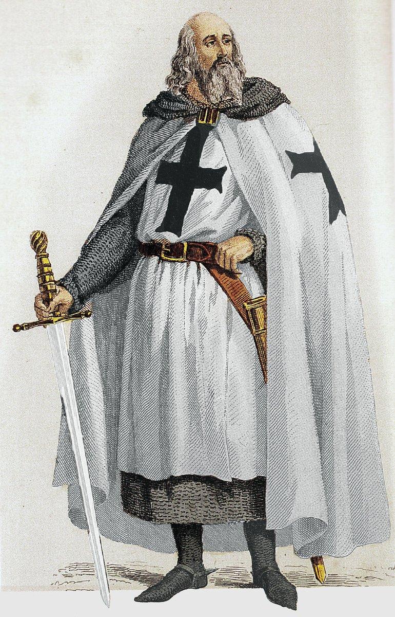 #TalDíaComoHoy 1314 es ajusticiado Jacques de Molay, últimoGran maestre de la Orden del Temple. https://t.co/wugBrS9df5