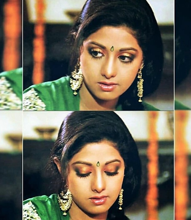 """#Sridevi in #Chandni is pure grace & elegance. Every #Indian outfit in the film should be archived as #fashion excellence. @SrideviBKapoor  """" I don't think we can take Sridevi as a ballpark figure, because Sridevi is a fashion institute in herself."""" #NeetaLulla quote @neeta_lulla"""
