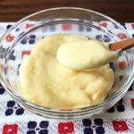 酪農家さん応援「牛乳」のレシピ。お手軽簡単レンジでチンのカスタードクリームのレシピです。