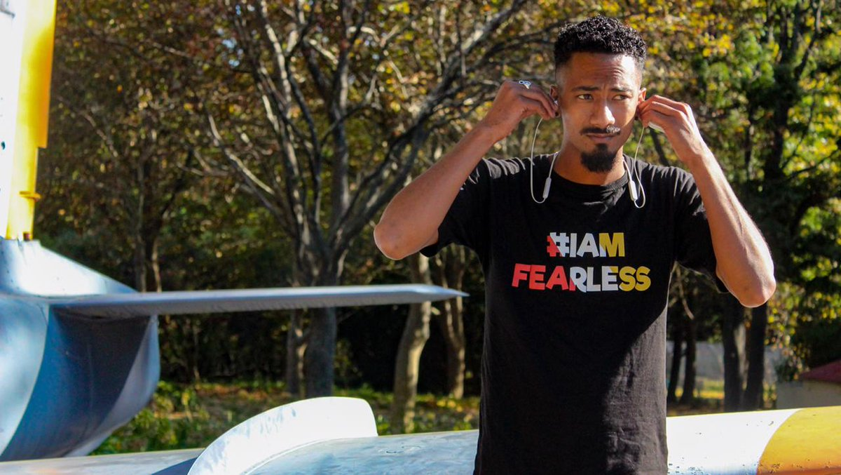 Thanks @RLabsWomen for the #IAmFearless T-Shirt. #MakingHOPEContagious #YearOfRise    Graphicalpic.twitter.com/930OKNk9vy