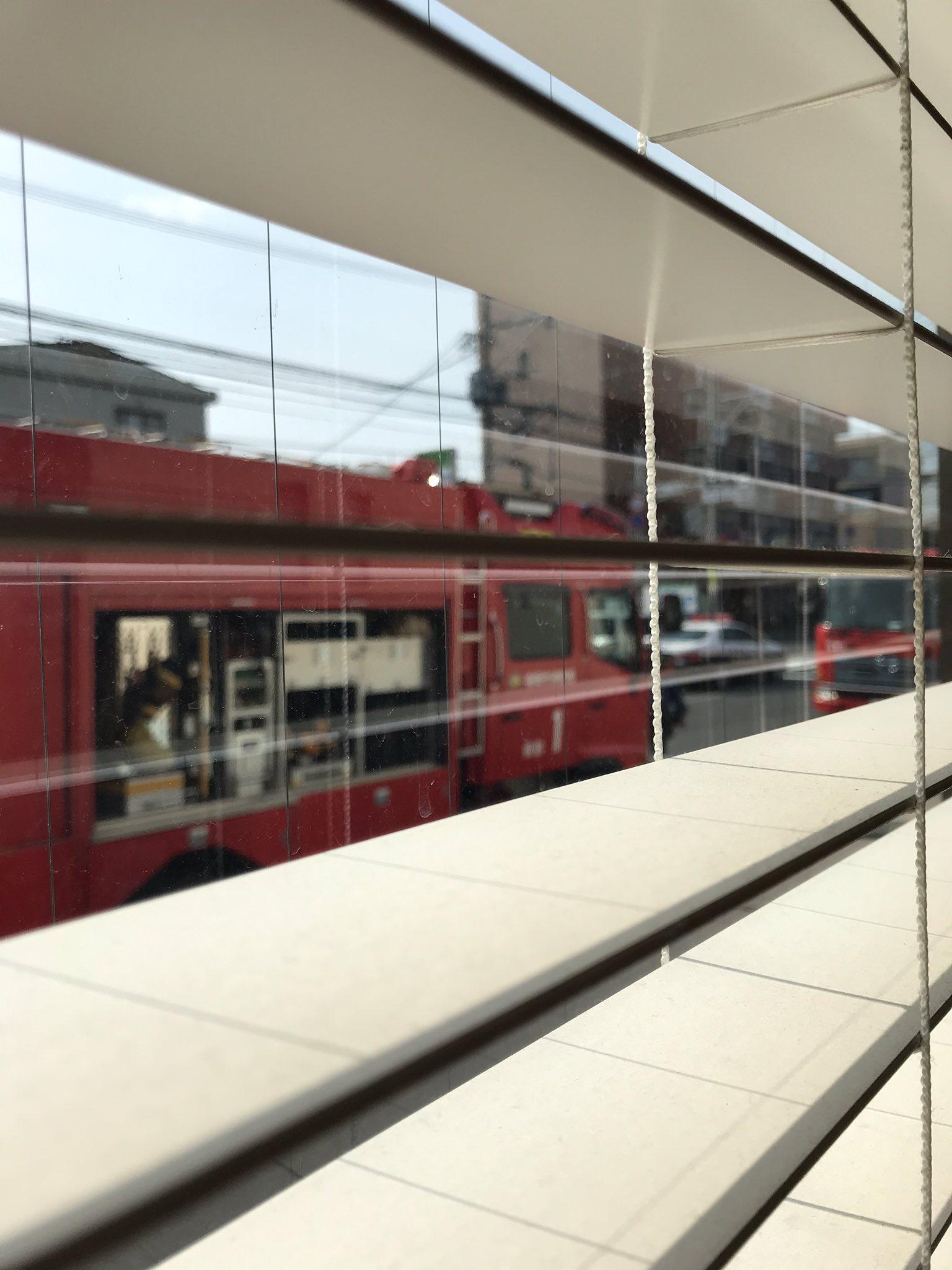 九産大前駅付近の踏切で人身事故が起きた現場の画像