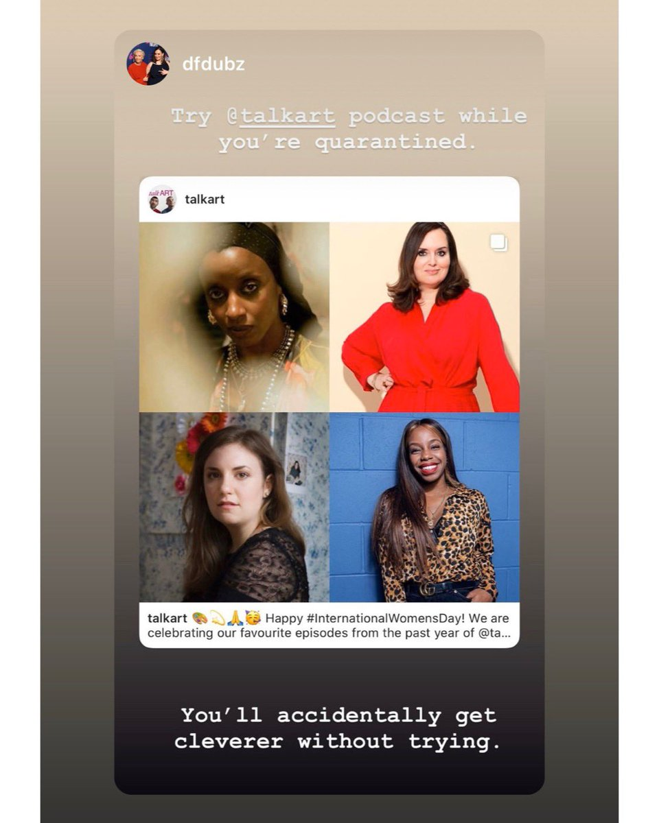 Thanks @DeborahFW @GuiltFemPod for the shout out!!!! We love Debs & #GuiltyFeminist SO MUCH - intelligent comedy helping improve the world!!! Have a listen to our very special interview with #deborahfranceswhite recorded live on stage last summer @LatitudeFest!pic.twitter.com/URtcLHK6bL