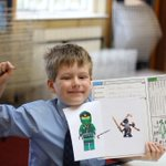 Yesterday's standout artist, Max, is ready for clay with his Lloyd the Ninja designs!