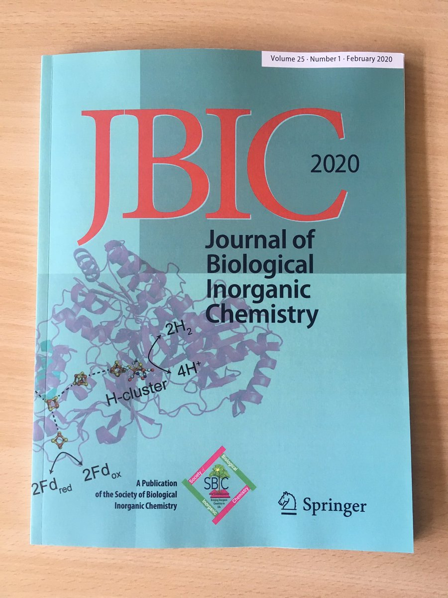 Some good news in the middle of the #CoronaPandemic: Literally the day our lab shuts down, this arrived on my desk: Issue 25(1) of JBIC is out to our readers! First Issue under new Editorship, new cover (with new SBIC logo!), 15 articles. Very chuffed!