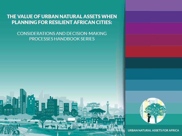 Happy #WorldWaterDay!  We celebrated this year's theme, 'water & #climatechange,' by releasing a series of handbooks to help #AfricanCities protect their natural assets through our UNA programme.  Download here:  https://t.co/EATJFjtLg3 #UNARivers #UNACoasts #ClimateAction4Africa