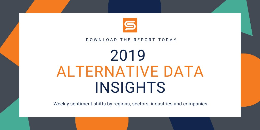 Which industry had the most positive sentiment shift in 2019? And which events were the main drivers? Check out our latest report and see if your guess was correct #AlternativeData  https://t.co/3O8eJsym5r https://t.co/HnLwyRBsEw