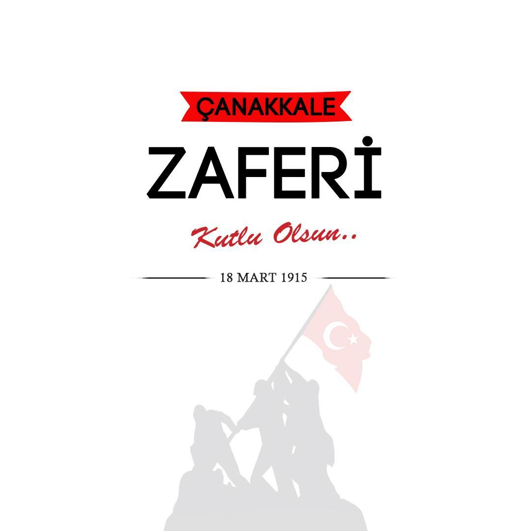 18 Mart Çanakkale Zaferimiz Kutlu Olsun. Tüm Şehitlerimizi Saygı ile Anıyoruz. https://t.co/GuX4Q21PV7