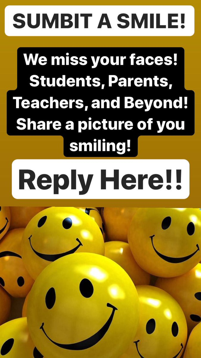 While Digital Learning is important, seeing our community is just as important! Check in! Smile! Connect!