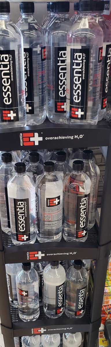 @essentiawater profiteers no reason other than profits in a disaster why the price has nearly doubled in places or gone up 30% a disgrace, once I finish my supply it will be the last drop I ever take, I'll gladly go back to @PolandSpringWtr who denied to me they were gouging https://t.co/k4ighj8kWJ