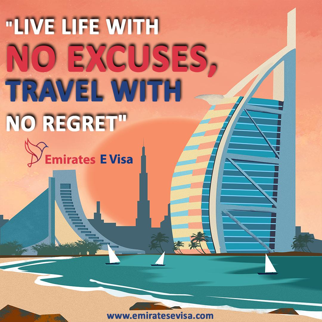 """Live life with no excuses, travel with no regret""  #EmiratesEVisa #Traveler #World #Memory #TouristAttraction #TouristPlace #Travelqotes #touristythings  #TouristForTheDay #travelling #travellers #travelwithme #doyoutravelpic.twitter.com/POkJ7fmnum"