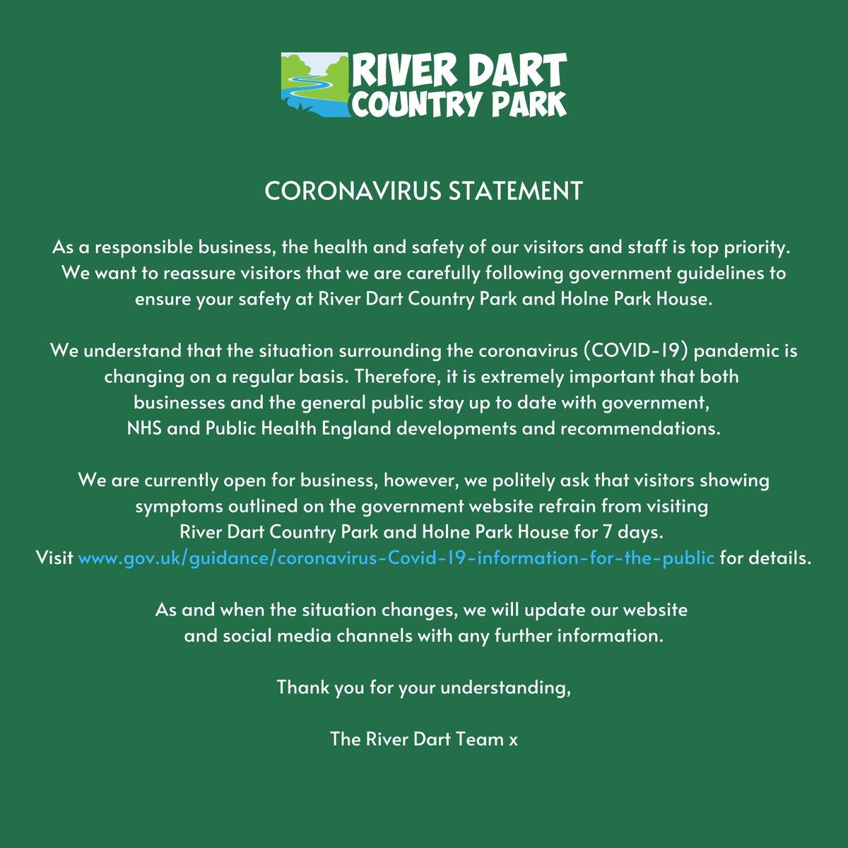 **UPDATE: Please read through our coronavirus statement below**