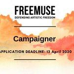 Image for the Tweet beginning: .#Freemuse is currently looking for