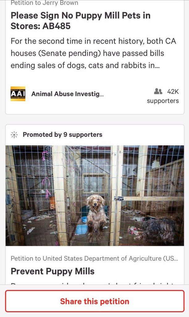 @CMKoslowitz Right now to many animals in need is the last thing on their mind - BUT- if we cared respected all living beings maybe we would live a safe peaceful live #shutdownpuppymills #puppymills #aspca