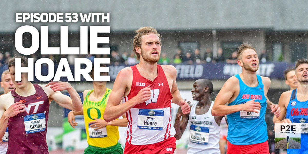 Check out episode 53 for an interview with University of Wisconsin senior @ollie_hoare97 . We discuss the disappointment in missing out on his last season of track, the up coming Olympic trials, and what professions he could pursue if sports never come back. https://t.co/6kzzWseg7F