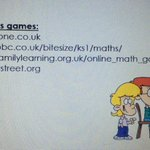 Image for the Tweet beginning: More Maths activities to do