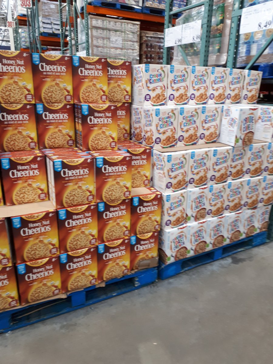 Visited a Costco this morning, where most shelves were empty on the weekend... Trust the food supply chain.
