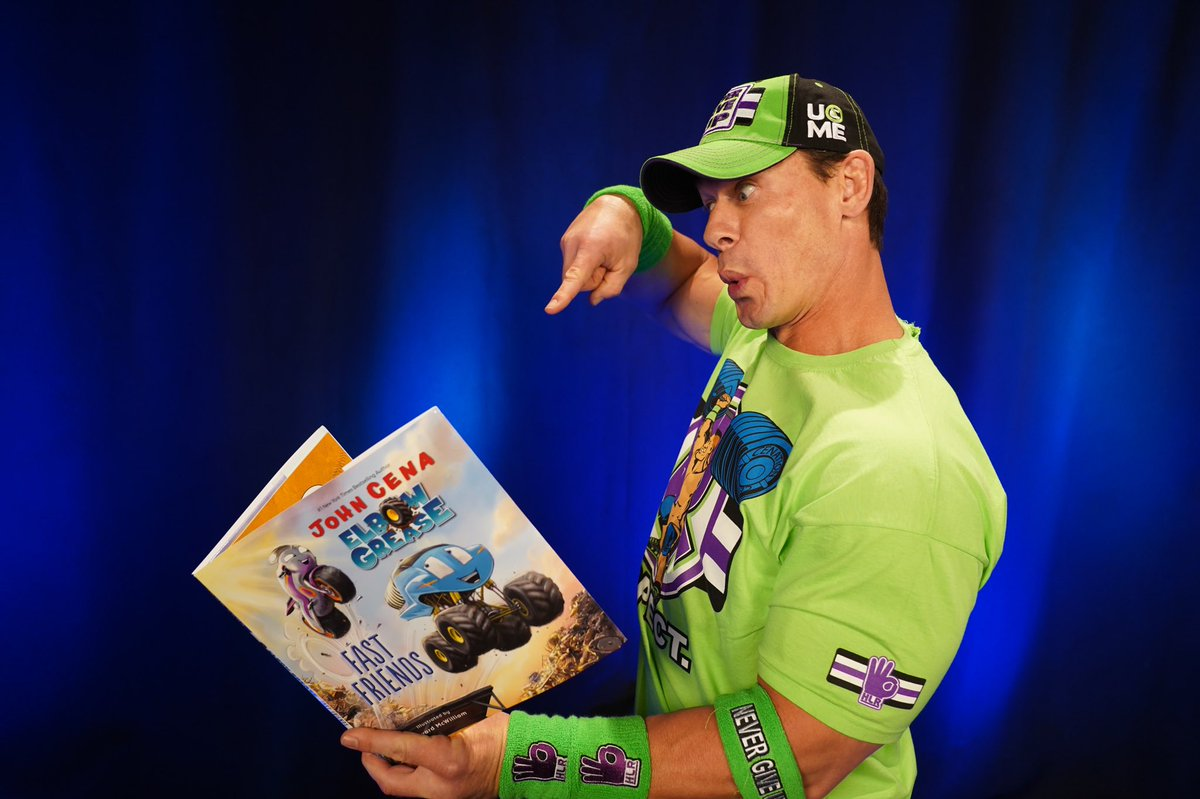 """John Cena Stars In """"Elbow Grease: Fast Friends"""" Children's Book This Fall (Photo)"""