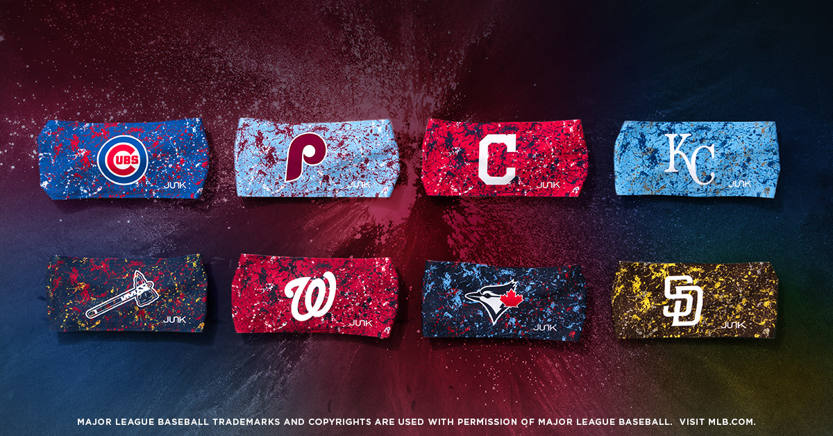 It's a double play!  Two NEW MLB collections  Shop here: https://www.junkbrands.com/collections/major-league-baseball-headbands/MLBSplatter …  #mlb #baseball #sports #beisbol #baseballheadbands #headbands #yankees #dodgers #baseballlife #paintsplatter #newdesigns #cubs #junkbrands #junkheadbandspic.twitter.com/L8RSTBVYeG