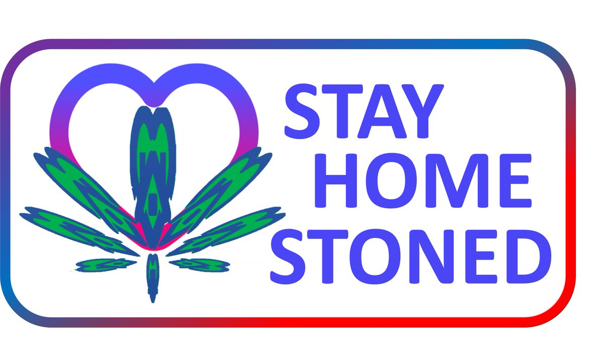 Show your support and add the Stay Home Stoned logo to your posts. #stayhome #stayhomestoned 420bizapps.com/stay-home-ston…