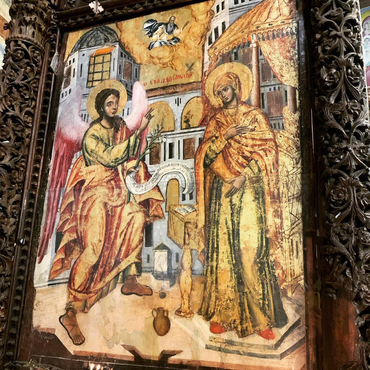 Blessed Feast of the #Annunciation! ✝️ ❤️ #GreekOrthodoxChurch #LiveOrthodoxy #GreatLent #HolyLand