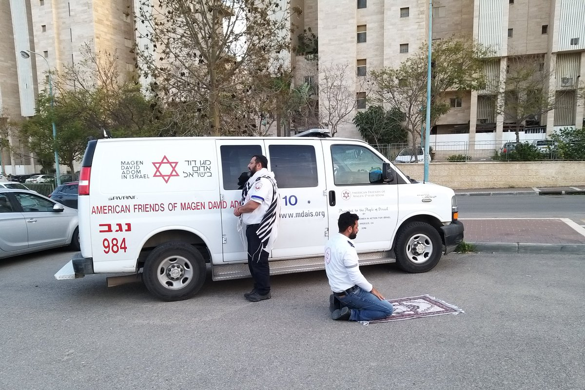 A photo from Israel's emergency medical service. No more words necessary.