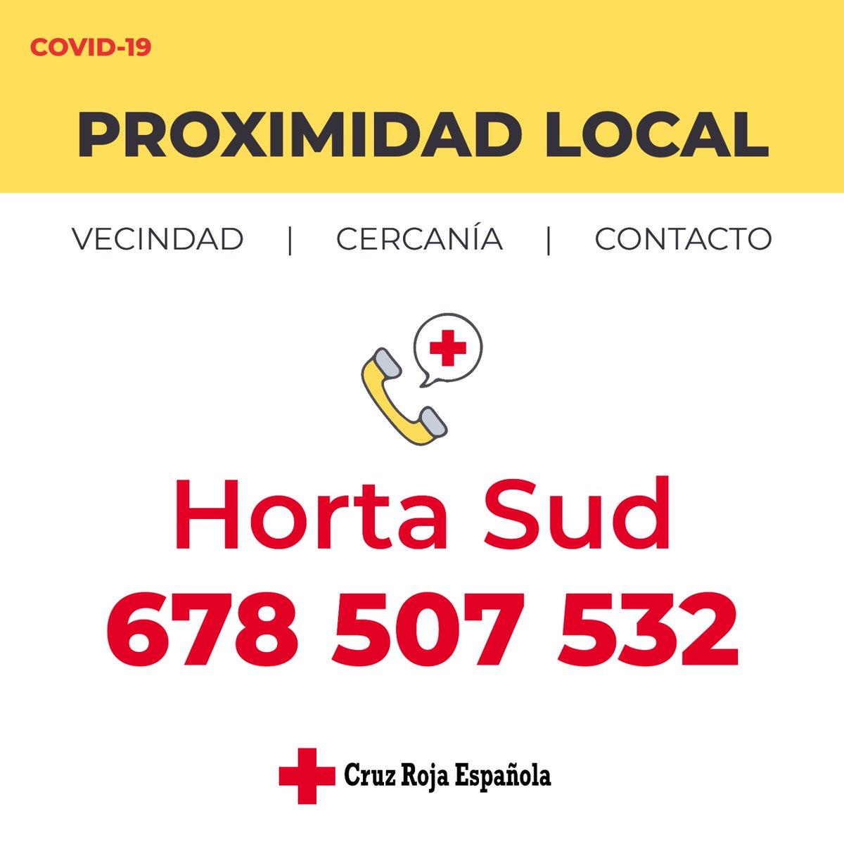Cruz Roja Horta Sud Crhortasud Twitter