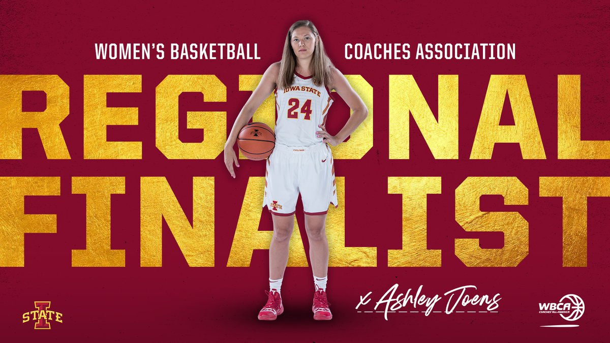 .@ashleyjoens is a Regional Finalist for the 2020 @WBCA1981 NCAA Division I Coaches' All-America Team!  🔗 https://t.co/fOGriZ0owd https://t.co/HolWu2bwAA