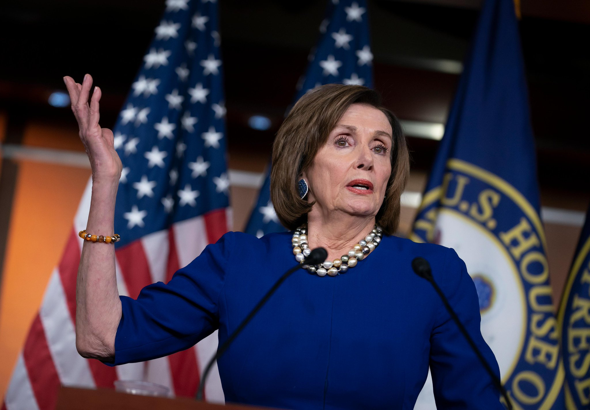 HAPPY BIRTHDAY to House Speaker Nancy Pelosi who is 80 years young today.