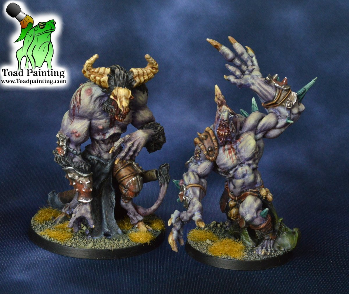 Here are some of the finished monsters from latest commission. The Vault Warden and Abomination from Zombicide: Green Horde  #minipainting #miniatures #miniaturepainting #Cmongames #zombicide  #greenhorde #tabletop #tabletopgaming https://t.co/awIFUHWdoN