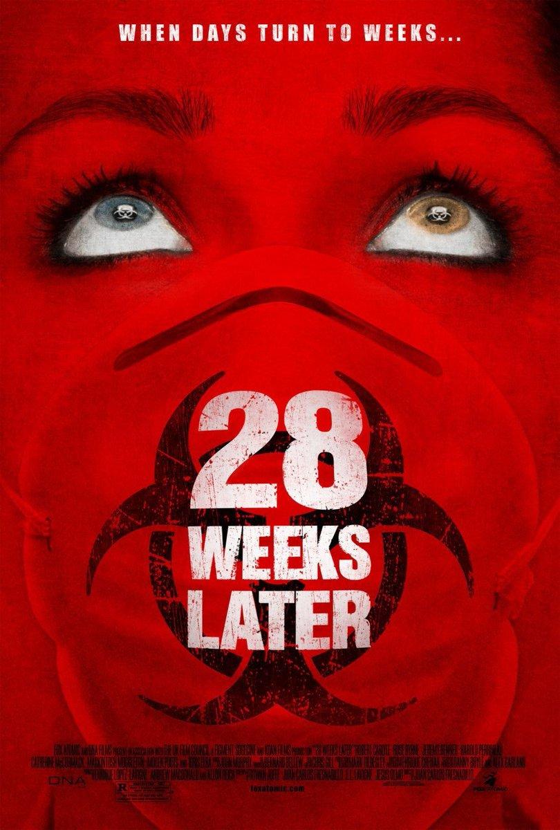 Dica de Filme  #Extermínio2 #28WeeksLater   Ano:2007 Elenco: #RobertCarlyle #RoseByrne #JeremyRennerpic.twitter.com/6LPoAfa8Th