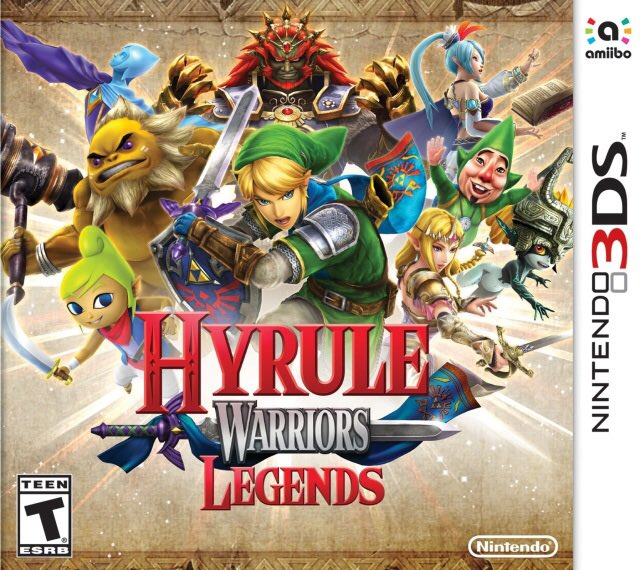 Hyrule Warriors Legends for 3ds was released on this day in North America, 4 years ago (2016)