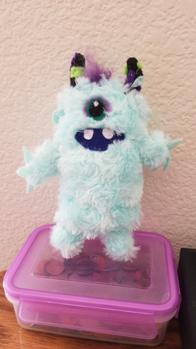 @TPAIN my daughter made this. Such a cool monster costume. Thanks for the memories!