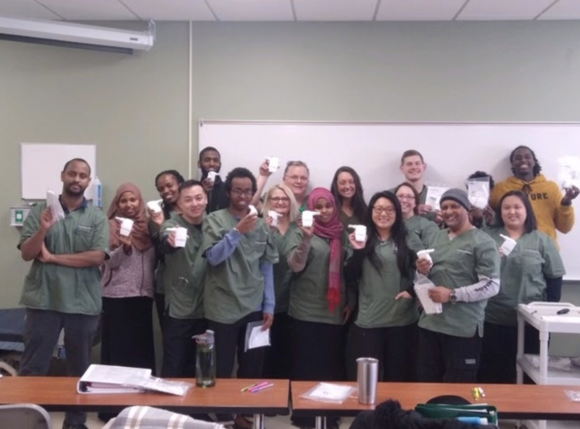 Thank you to the RT students at Saint Paul College for inviting Monaghan Medical Clinical Manager, Judy Schloss, in to discuss aerosol delivery and airway clearance. #AEROBIKA (: Greg M) pic.twitter.com/eyYQRz8M59
