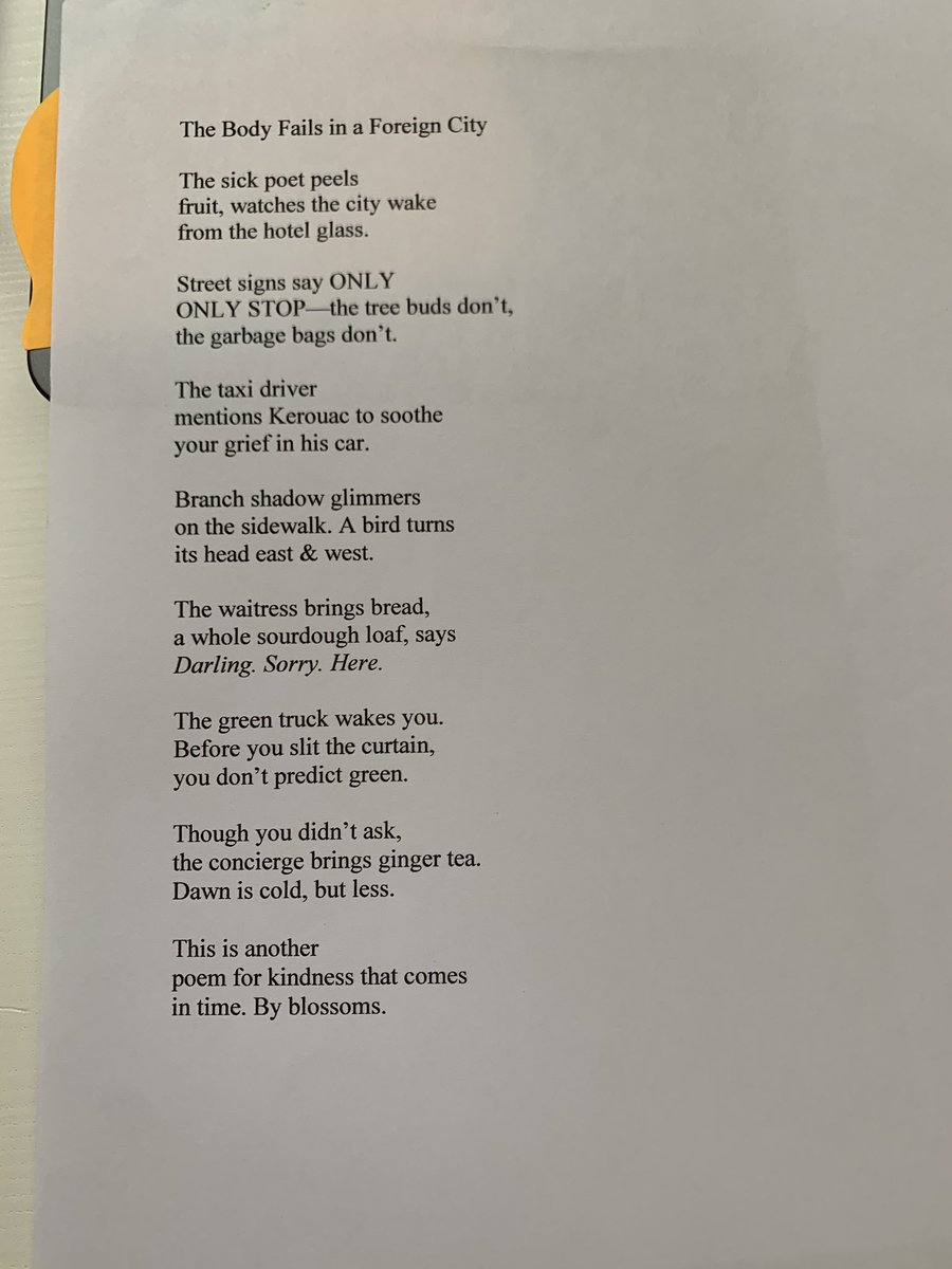 Zeina Hashem Beck On Twitter Here S The Poem In Print I Don T Know How To Caption Videos But I D Like To Have That For Deaf Poets Will Google And Hopefully I Can