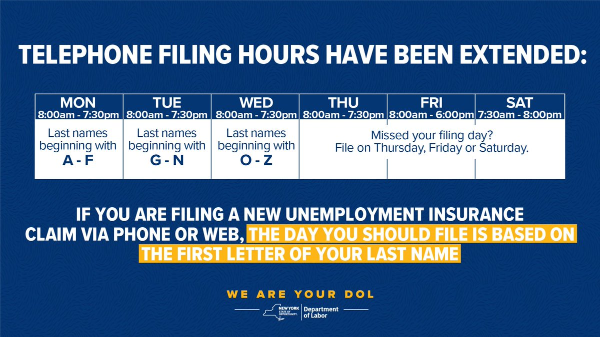 Department of Labor extends hours, but still expects issues with unemployment application process