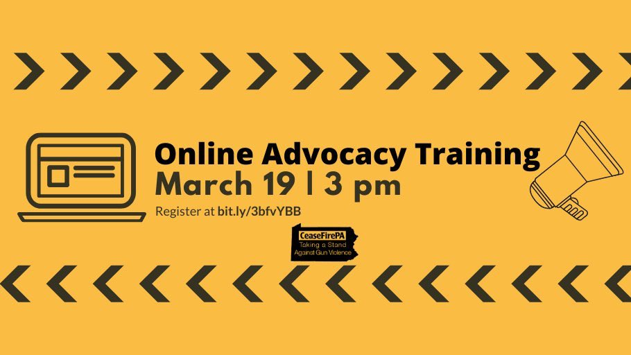 Free tomorrow? Join us for a quick webinar on advocacy at 3pm! 📱🖥 RSVP Here 👉zoom.us/webinar/regist…